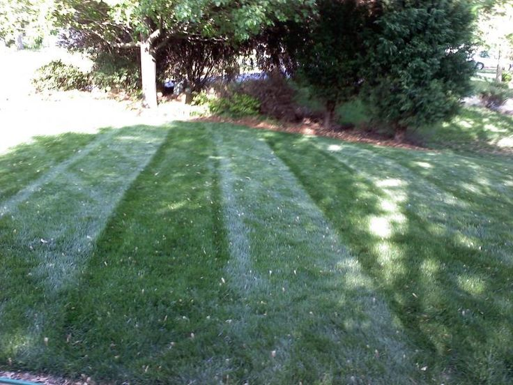 Homemade lawn striping kit for commercial mowers diy