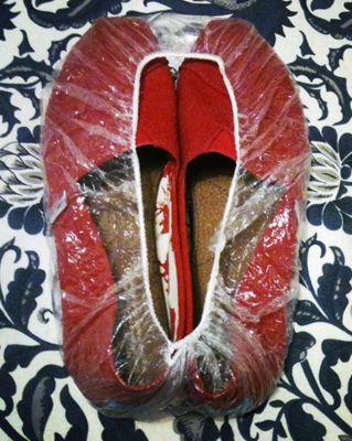gorro de ducha para calzado