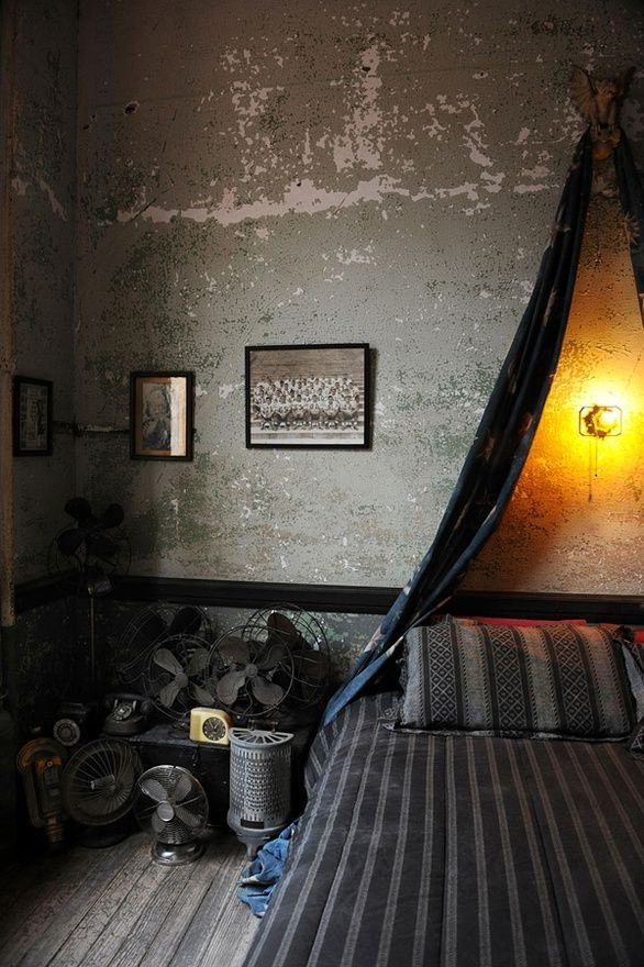 30 Cool Grunge Interior Designs - ArchitectureArtDesigns.com