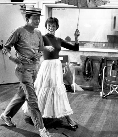Rehearsal of Mary Poppins