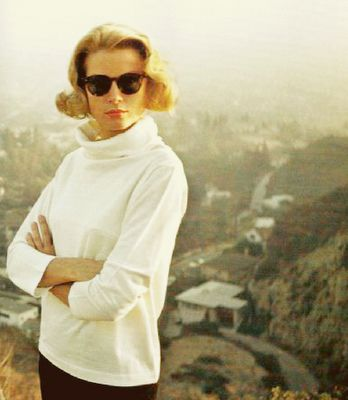 Iconic Blonde Grace Kelly