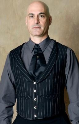 "6bfae6c8841 The ""Jordan"" men s waistcoat corset by Cypress Corsetry"