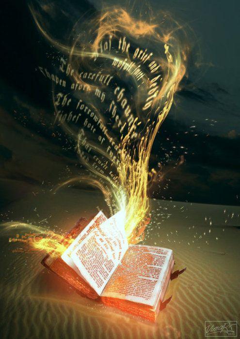 the Word is alive! Hebrews 4:12  :)
