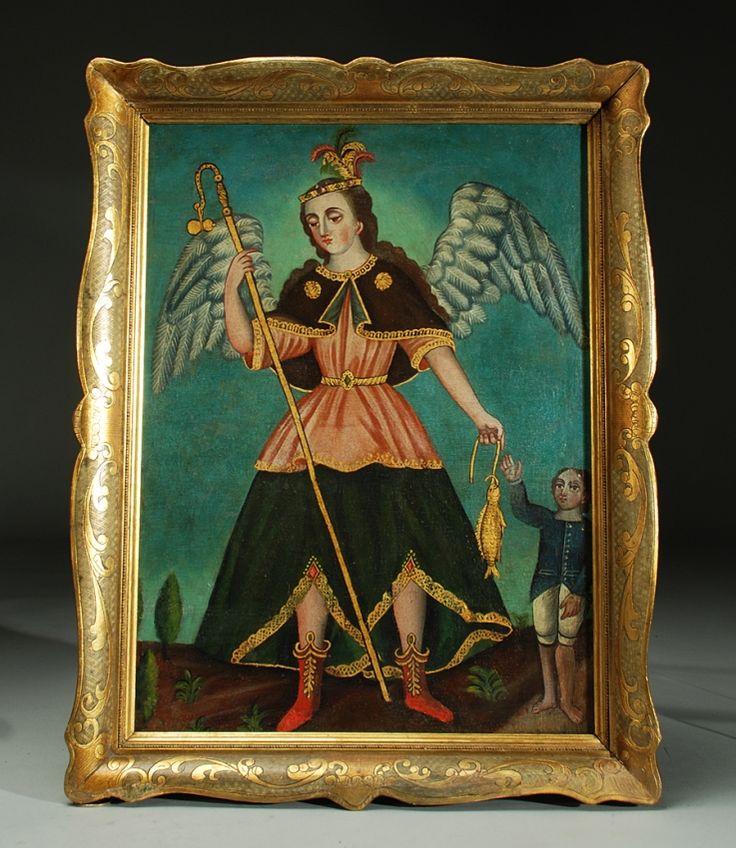 San Rafael Arcangel | Colonial Arts