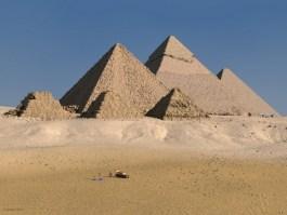 Las piramides de Giza