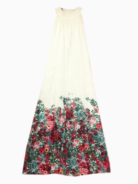Choies Limited Edition Beautiful Summer Halter Maxi Dress | Choies