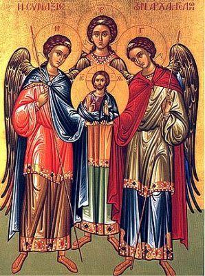 Miguel, Gabriel y Rafael son los únicos de los siete arcángeles que aparecen con sus respectivos nombres en la biblia Católica.    En referente a los demás, dependiendo de cada religión la lista se la completa con arcángeles muy variados. Uriel es uno de los más sonados en la mayoría de las listas.