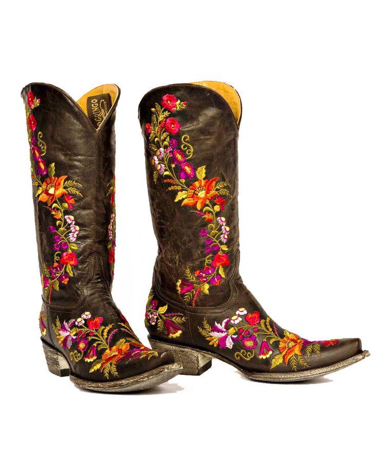 Old Gringo Women's Jasmine Boot - Chocolate