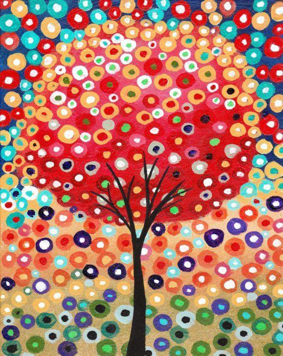Love trees, love circles, love this.