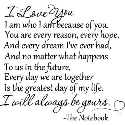 Quotes About Loving Your Husband | thought I would share with you one quote from a movie that I love…