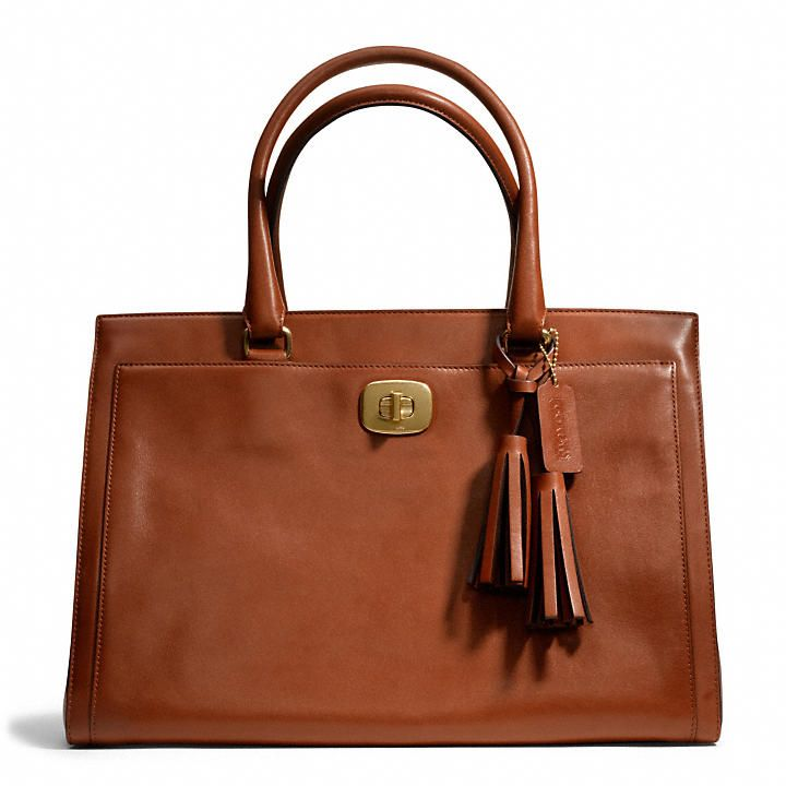 LEGACY CHELSEA CARRYALL IN LEATHER