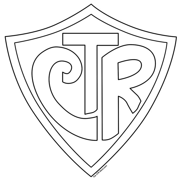 coloring page http www ctrringstore com ctr shield coloring page