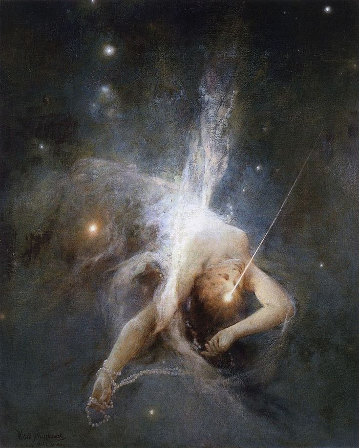 Witold Pruszkowski, Falling Star, 1884