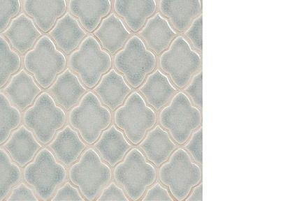 Walker Zanger Ceramic Moroccan Mosaic Field (mesh mounted) Blue Shadow - one of girls bath
