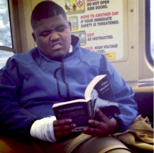 "29 People Caught Reading ""Fifty Shades Of Grey"" In Public  number 19 and 29 killed me,  too funny!"
