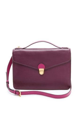 Marc by Marc Jacobs Top Chicret Top Handle Satchel Oh my... love at first sight with this bag
