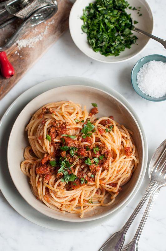 Ultimate Spaghetti Bolognese by eatlittlebird #Pasta #Spaghetti