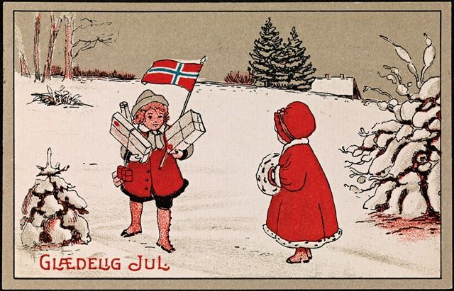Glædelig Jul, 1919 (Joyful Christmas);  Nasjonalbiblioteket on The Commons (Flickr);  National Library of Norway; http://www.flickr.com/photos/national_library_of_norway/6423756051/