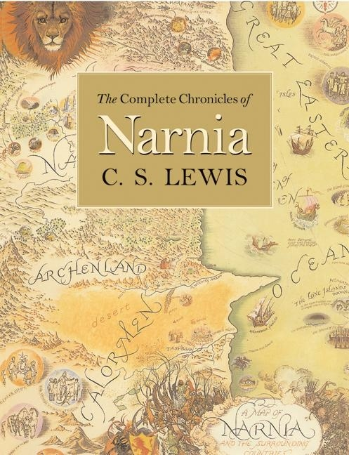 Image result for complete chronicles of narnia