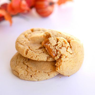 Caramel Apple Cider Cookies from The Girl Who Ate Everything