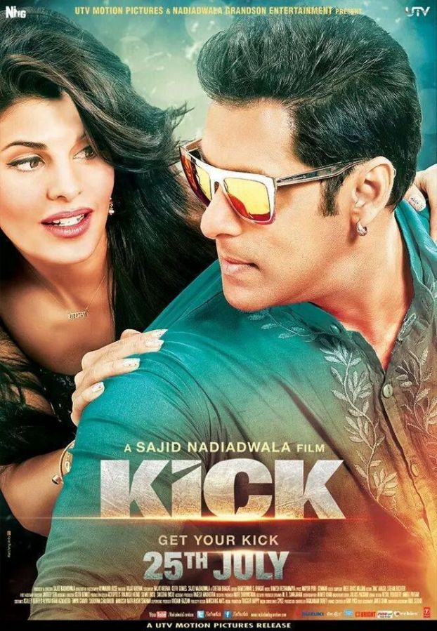 Jacqueline Fernandez and Salman Khan in KICK (2014) | Getting a #KICK Out of a Fun Flick http://ow.ly/zCxdI #GetYourKick