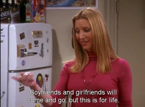 Phoebe quote about friends