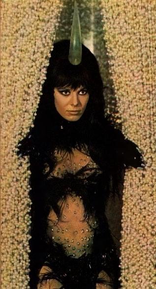 "Anita Pallenberg, ""Barbarella"", 1968"