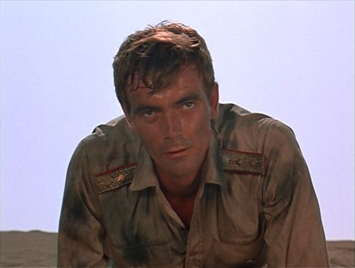"""In which Hans Gudegast/Eric Braeden is a terrifying actor. You can just see all of Dietrich's men that have fallen to the Rats in his eyes. Right there. The men, the boys, the friends and barely-knew-hims he's seen dragged out of flaming convoys because of Troy. And that is all in a moment of film, a sliver that you barely notice unless you stop the footage."""