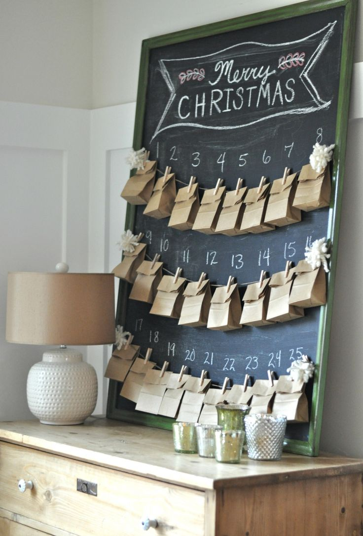 What a PRECIOUS idea! Making an Advent Calender with 24 acts of kindness. Instead of more gifts for your children this puts the focus on the true meaning of Christmas! (via Between You & Me Blog)