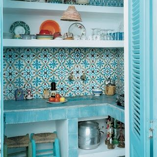 Petite Kitchens: Moroccan Kitchens