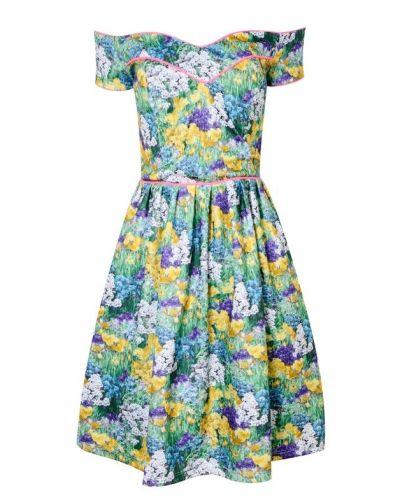 Amalee Floral Skater Dress - Sale | LashesofLondon.com