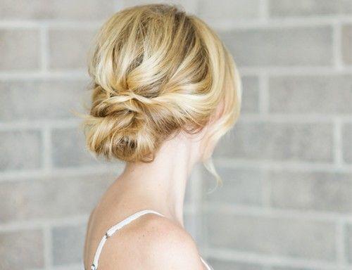 Romantic And Easy DIY Low Bun With Crisscross | Styleoholic