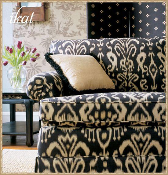 Bravado Ikat fabric from Thibaut #laylagrayce #ikat