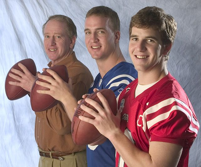 The Mannings--Archie (who my parents met in the 70s), Peyton, and Eli. Three NFL players from Mississippi should you not follow football.