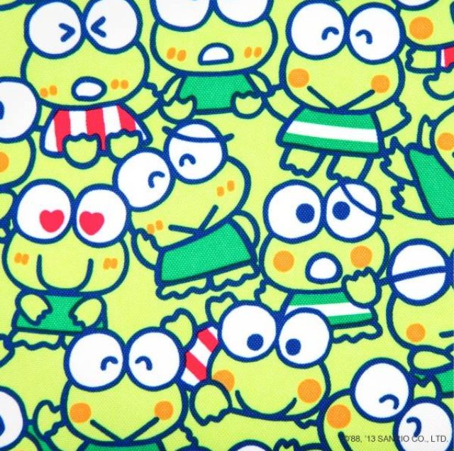 keroppi sanrio colouring pages page 3