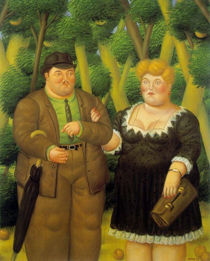 Coppie e famiglia di Botero