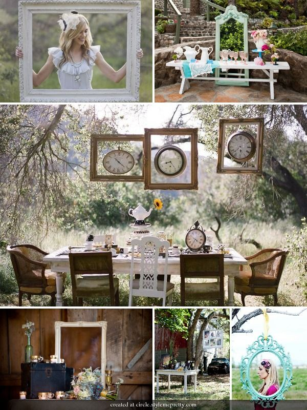 i want a fairy tale/ alice in wonderland tea party theme for a wedding reception.... maybe,  Go To www.likegossip.com to get more Gossip News!