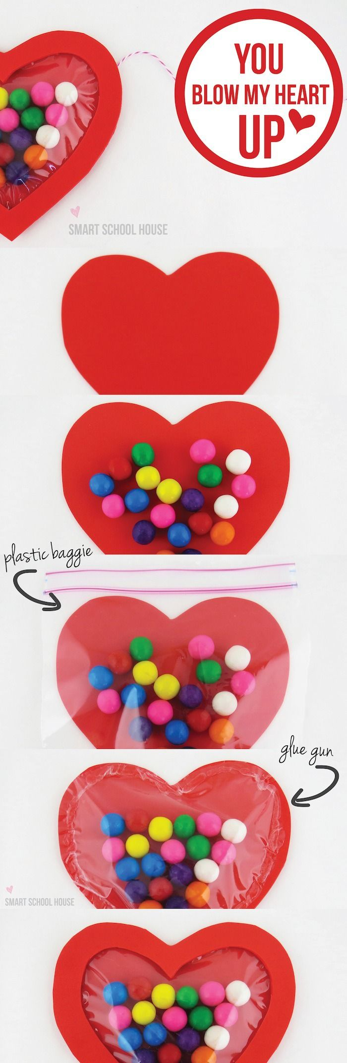 BLOW MY HEART UP – Bubble Gum Valentine Craft & free printable