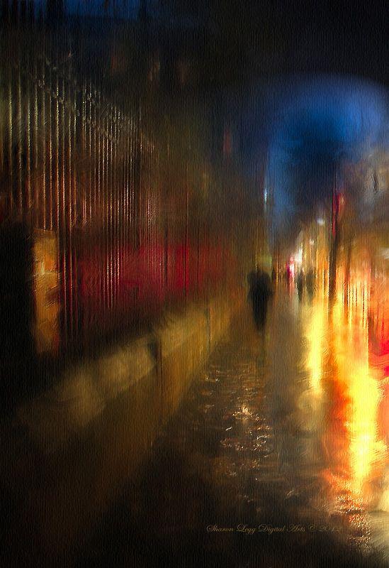 Rainy Night In Paris by SharonLegg