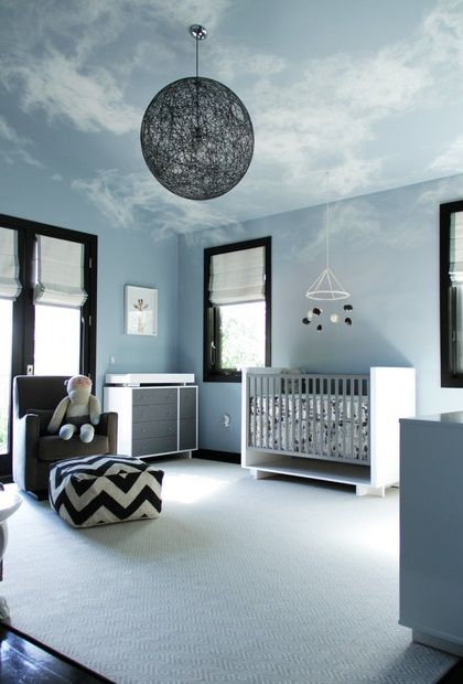amazing painted ceiling -via houzz
