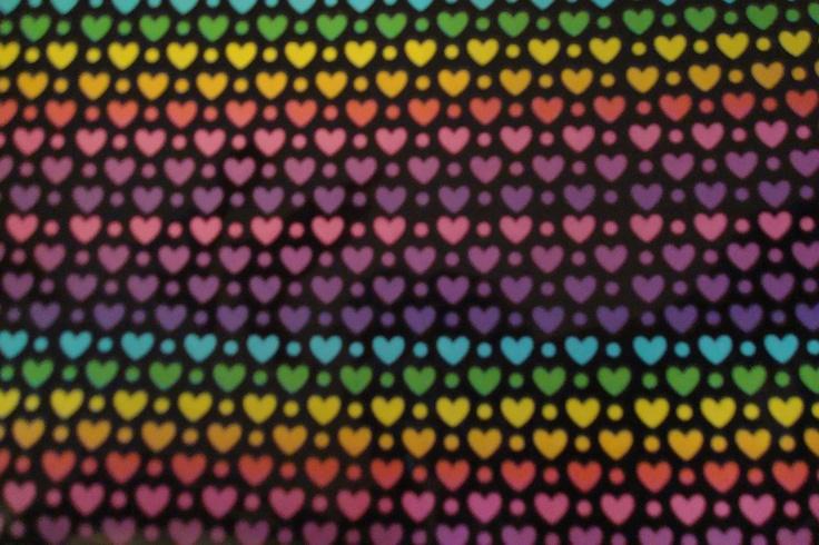 pretty hearts spectrum electric neon pinterest