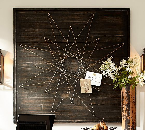 Geo Wire Wall Art | Pottery Barn