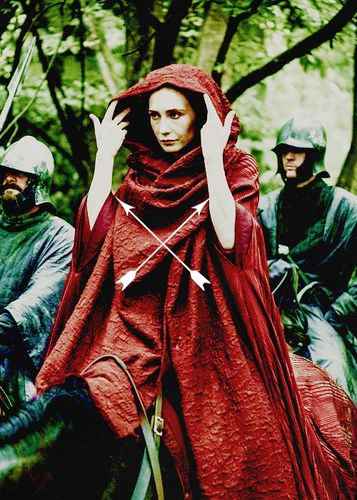 Melisandre ~ Game of Thrones Fan Art
