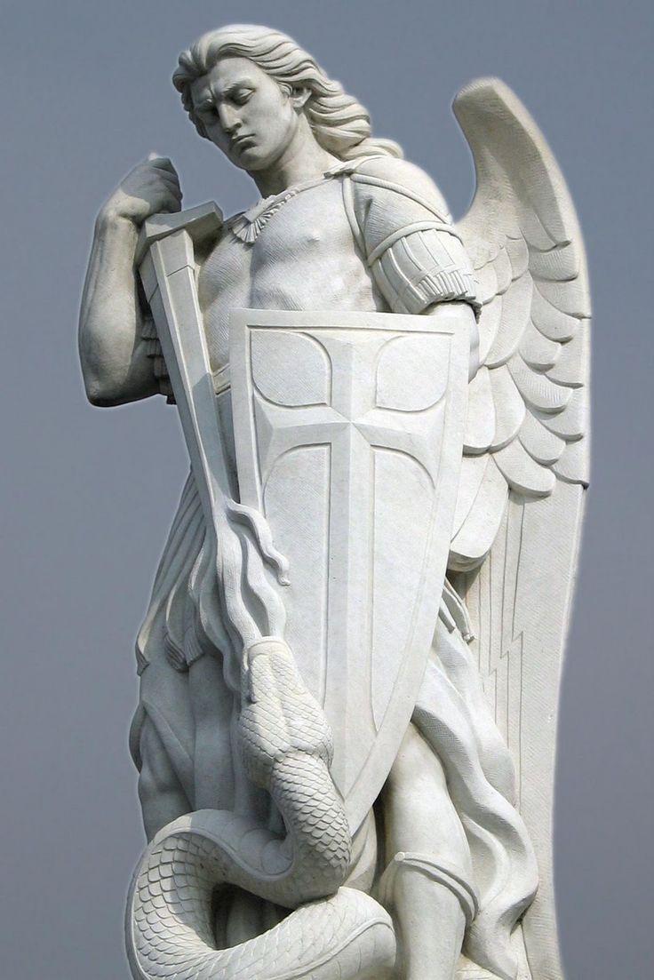 San Miguel Arcángel, Basílica de Guadalupe - Ciudad del México (Saint Michael, Patron Saint of Law Enforcement by Seulete: Thx!) http://benhotamthuong.blogspot.com.br/2011/08/guadalupe3.html