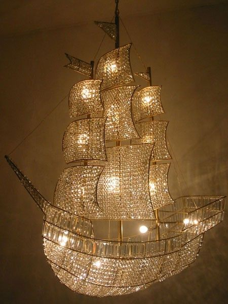 Peter Pan Chandelier. WHAT?!