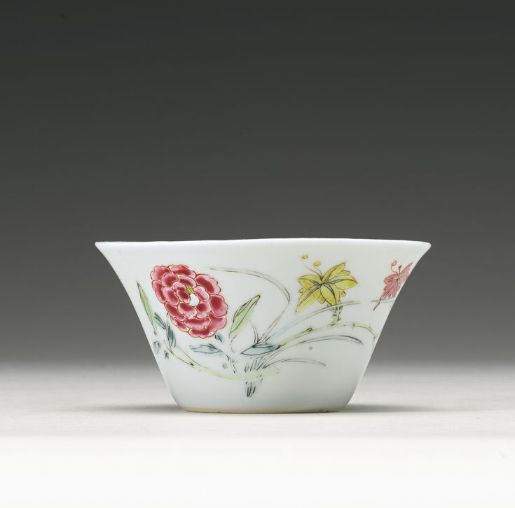 A Famille-Rose enameled cup, Yongzheng mark and period