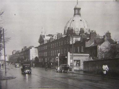 Balck-and-white photo of Rathmines Church, Dublin