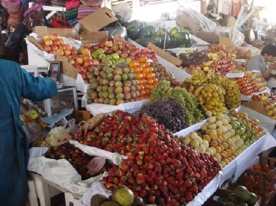 Mercado Central de San Pedro - Cusco, Peru