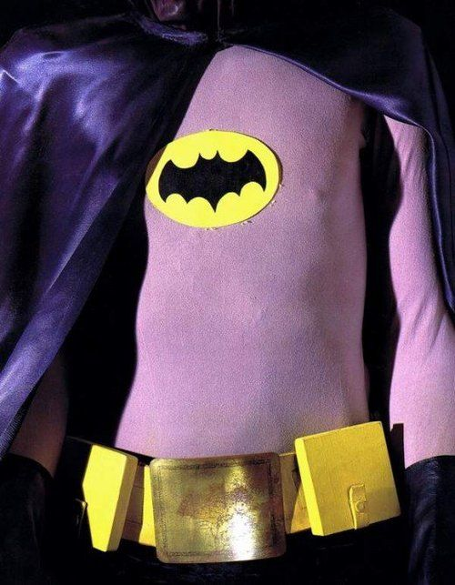 Costumes of the 1960's Batman TV series starring Adam West
