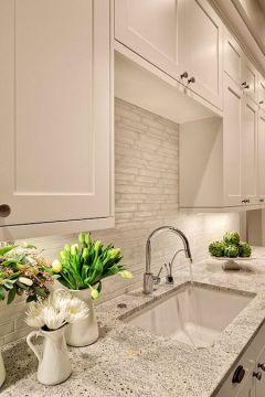 streamlined kitchen design